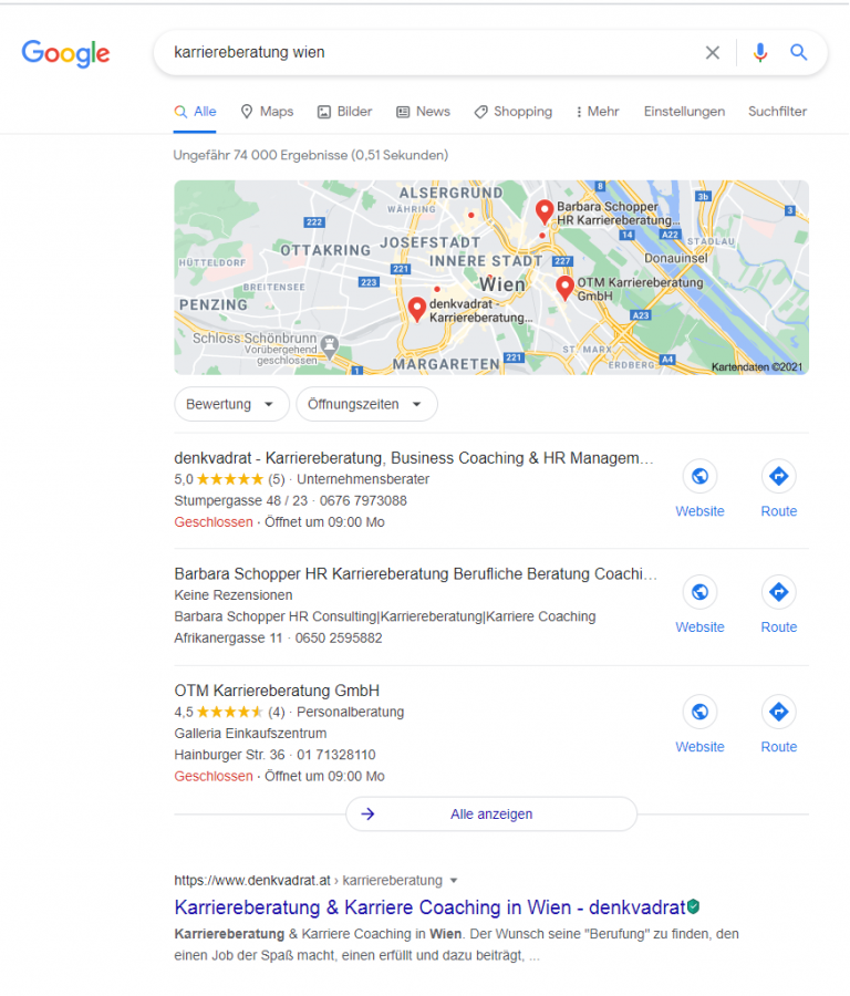 Local SEO - Google 3-Pack
